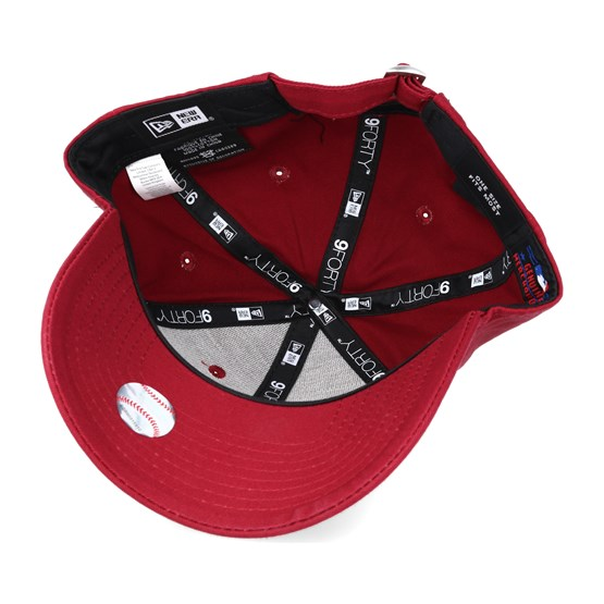 ed05fc03 New York Yankees MLB League Ess Red 9forty Adjustable - New Era