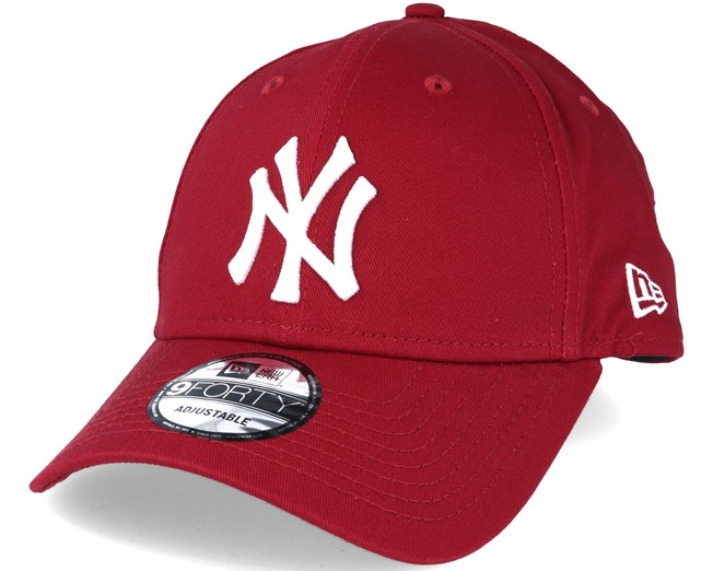 164ae87f New York Yankees MLB League Ess Red 9forty Adjustable - New Era caps ...