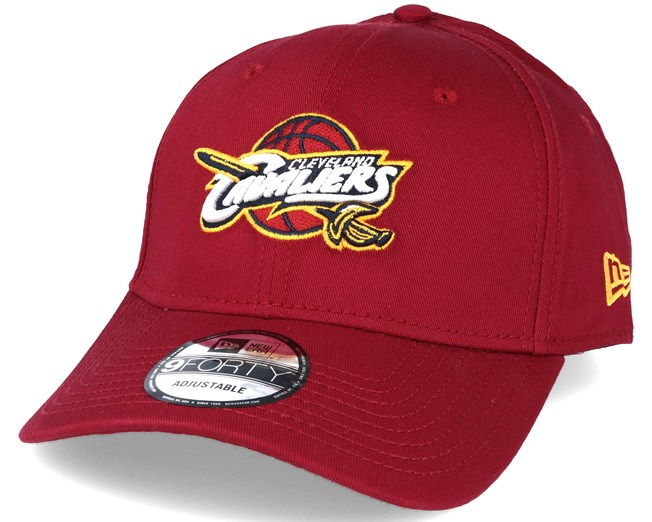 ce78bf3afd00bc Cleveland Cavaliers NBA Red 9forty Adjustable - New Era caps ...