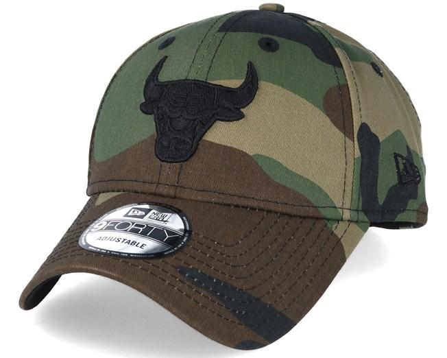 f7134e23e58 Chicago Bulls NBA Camo 9forty Adjustable - New Era caps ...