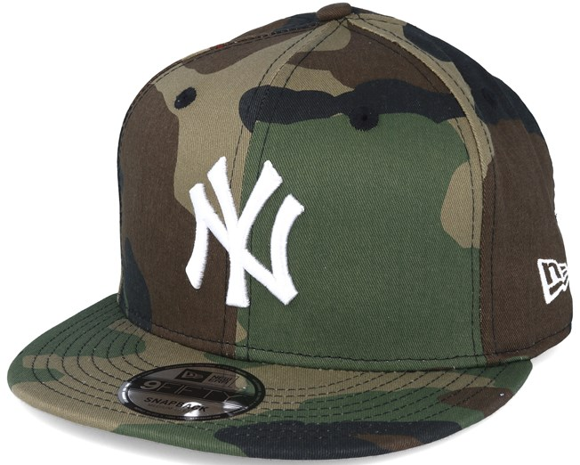 520d0143a96 New York Yankees MLB League Essential Camo 9fifty Snapback - New Era ...