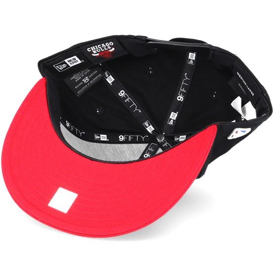 9b2e564da Chicago Bulls NBA League Essential Black 9fifty Snapback - New Era