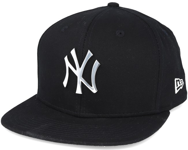 6941629687213 New York Yankees MLB Metal Badge Black 9fifty Snapback - New Era ...