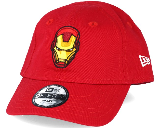 dedd6bc72d49b Kids Hero Essential Inf Ironman Red 9forty Adjustable - New Era ...