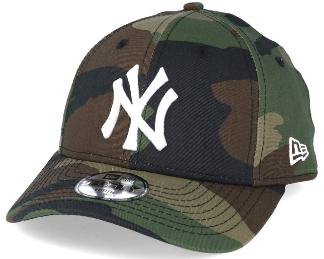 b07a88bf0ff Kids New York Yankees MLB League Ess Camo 9forty Adjustable - New ...