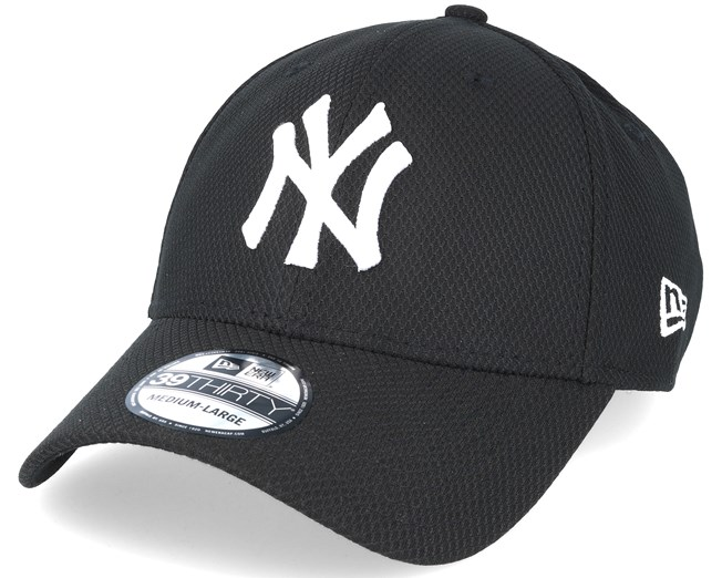 5fb5c57e New York Yankees Diamond Ess Black 39thirty Flexfit - New Era caps ...