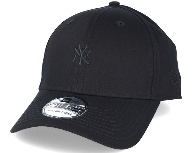 e1448cd0fef New York Yankees Mini Logo Essential Black Black 39thirty Flexfit - New Era