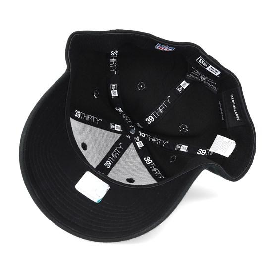 3642cfa4d94 Oakland Raiders NFL Team Essential Stretch Black 39thirty Flexfit - New Era  caps