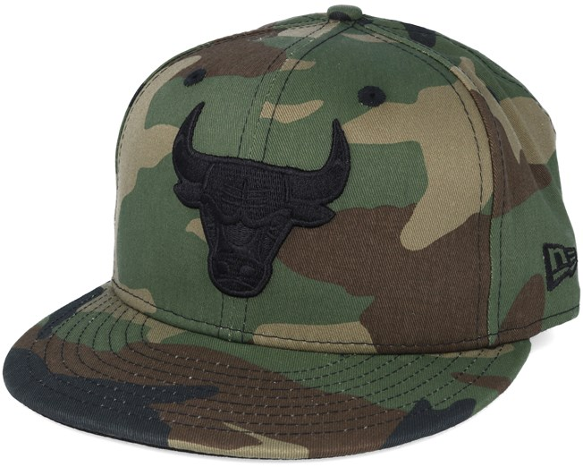Chicago Bulls NBA Camo 59fifty Fitted - New Era caps  8baceb9a260