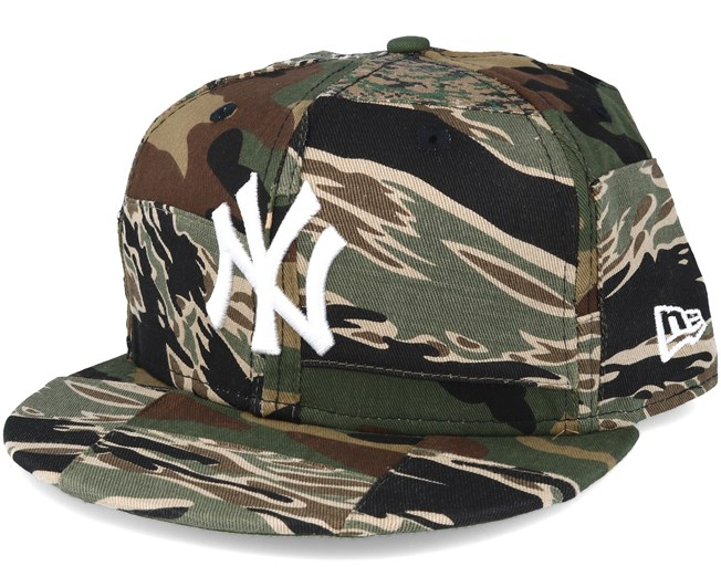 3941b6fe21c New York Yankees Patchwork Camo Fitted 59Fifty Fitted - New Era caps ...