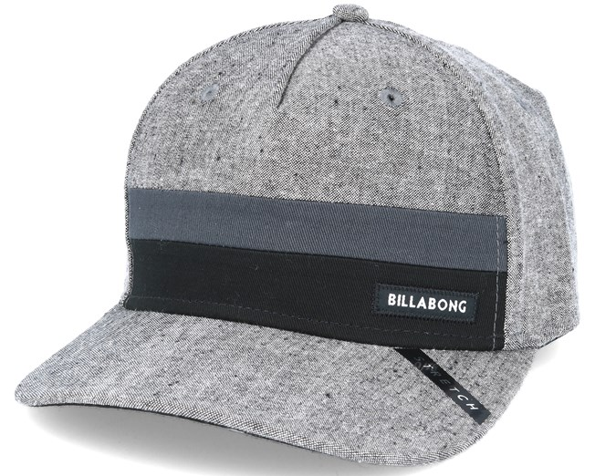 Tribong Heather Grey Stretch - Billabong - Start Boné - Hatstore b14dd9b50ea