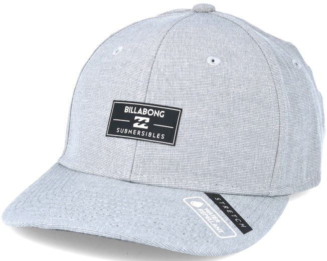 Crossfire Stretch Grey Flexfit - Billabong - Start Boné - Hatstore 72302e1bb82