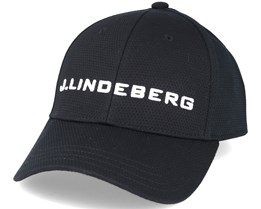 Aiden Pro Poly Black Adjustable - J.Lindeberg