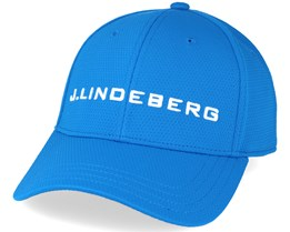 Aiden Pro Poly Acqua Blue Adjustable - J.Lindeberg