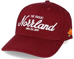 Great Norrland Hooked Maroon Adjustable - Sqrtn