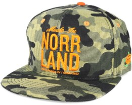 Made In Norrland CAMO Snapback - Sqrtn