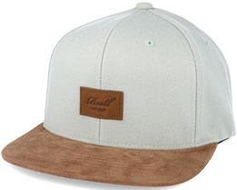 Suede 6-Panel Sea Glass Snapback - Reell