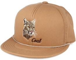 The Wilderness Sp. Lt Brown Snapback - Coal