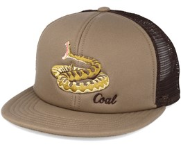 The Wilds. Trucker Brown Snapback - Coal