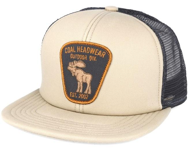 906b6459a9f The Bureau. Beige Snapback - Coal caps