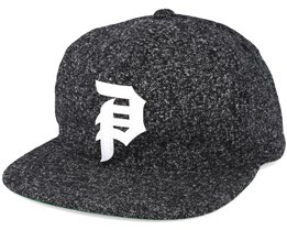 Dirty P Strapback Black Adjustable - Primitive Apparel