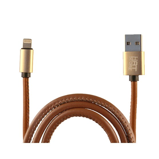 Accessoarer USB Cable iPhone/Android - Hatstore - Brun