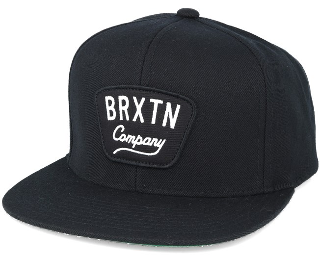 1a15a895c Gaston Black Snapback - Brixton caps | Hatstore.co.uk