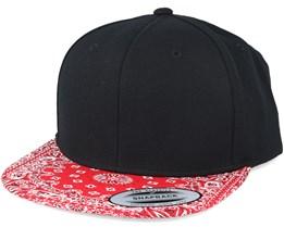 Paisley Red Snapback - Yupoong
