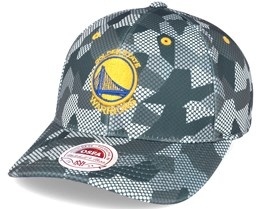 Golden State Warriors Carbon Camo Slouch Flexfit - Mitchell & Ness
