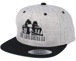 Invincibles Grey/Black Snapback - Forza