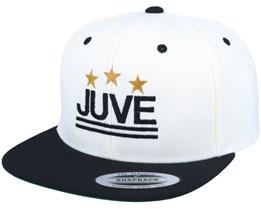 Juve White/Black Snapback - Forza