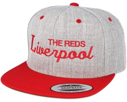 Liverpool Grey/Red Snapback - Forza