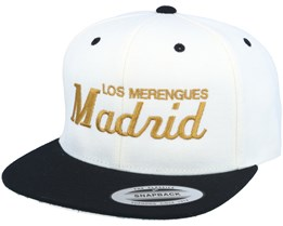 Madrid White/Black Snapback - Forza