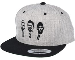 MSN Grey/Black Snapback - Forza
