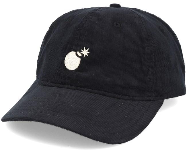 Solid Bomb Dad Black Adjustable - The Hundreds keps - Hatstore.se 7ec7b3d7a1fa