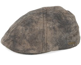 Texas Pig Skin Sportcap Flat Cap - Stetson
