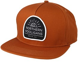Tent Brown Snapback - Northern Hooligans