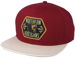 Bears Maroon/Stone Snapback - Northern Hooligans
