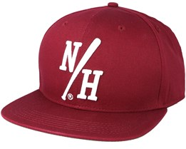 Batter Maroon Snapback - Northern Hooligans