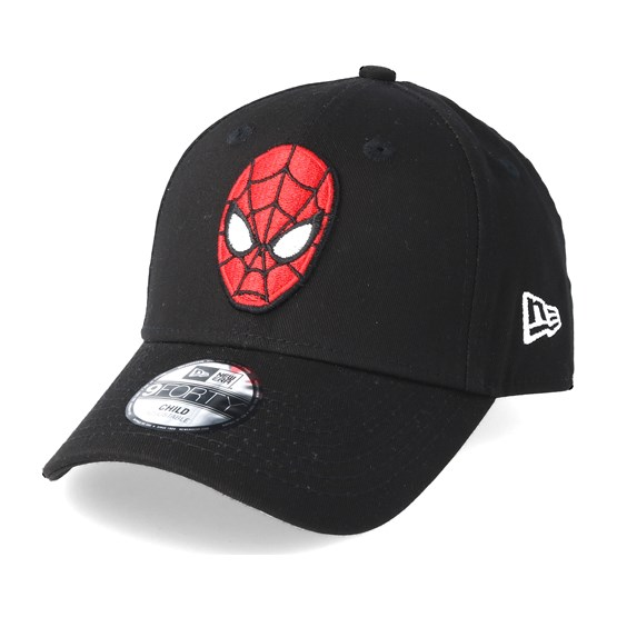 New Era Spiderman Kids Character Splatter Visor 9Forty Snapback Cap Child Kind