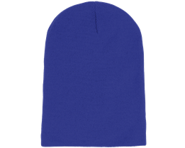 Long Beanie Bright Royal - Beanie Basic
