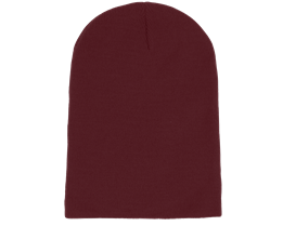 Long Beanie Burgundy - Beanie Basic