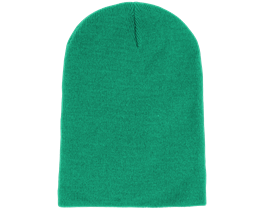 Long Beanie Kelly Green - Beanie Basic