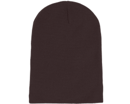 Long Beanie Plum - Beanie Basic