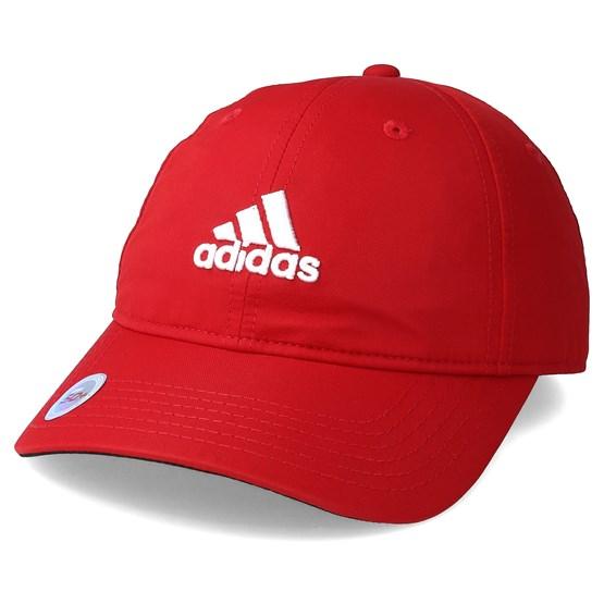 Keps Kids Logo Junior Red/White Adjustable - Adidas - Röd Barnkeps