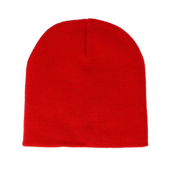 watch 7192d 9532d Knitted Short Classic Red Beanie - Beanie Basic beanies - Hatstorecanada.com