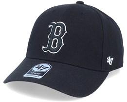 Boston Red Sox Mvp Black Adjustable - 47 Brand