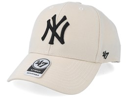 the latest fcb3e 90f73 New York Yankees Mvp Natural Adjustable - 47 Brand