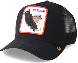 Freedom Black Trucker - Goorin Bros.