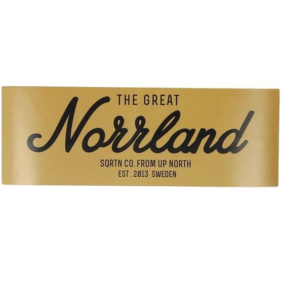 Accessoarer Sticker Norrland 6x17 CM Gold - Sqrtn - Gul